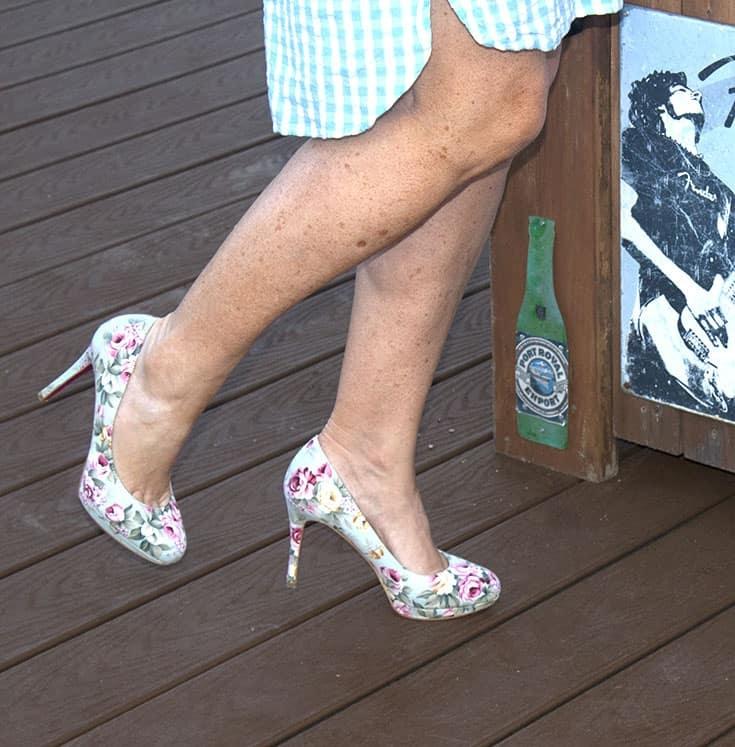 shoe dazzle signature soles in floral