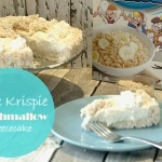 rice krispie marshmallow cheesecake