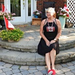 Canada Rocks Black dress from GT Boutique
