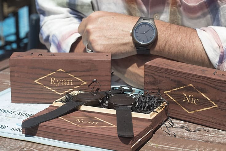 personalized wood watch engraved