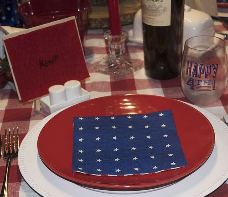 celebrating with a fun july 4th table
