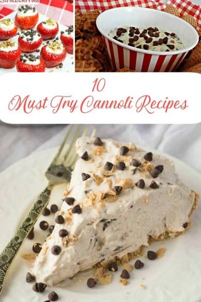 10 Unique Cannoli Recipe's to Try