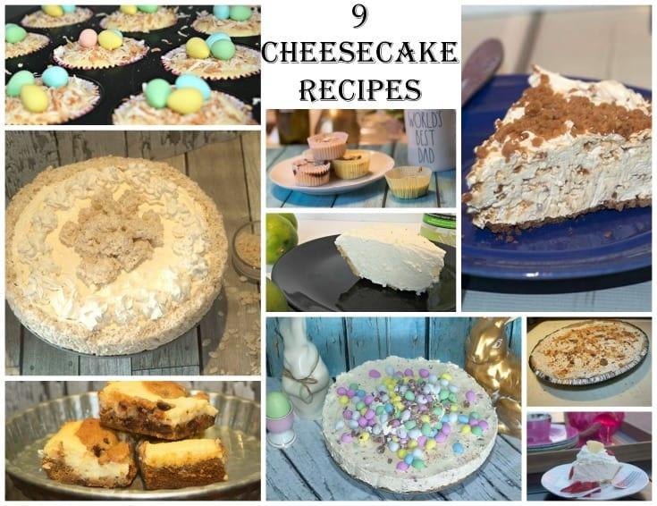 Cheesecake for dessert 9 fun recipes