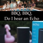 use an echo to plan your party