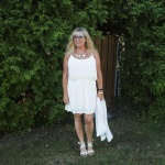 Cream dress from F21 3