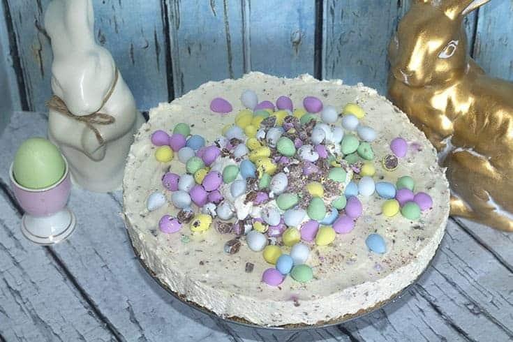pastel eggies and cheesecake