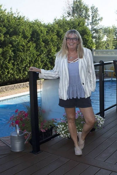 Summer Shorts Suit and my Bloglovin Issue