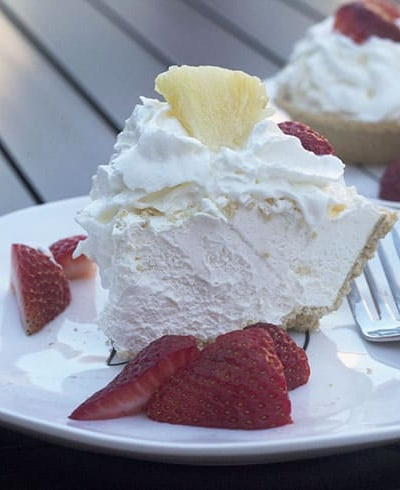 Pina Colada Cheesecake Pie and Tarts