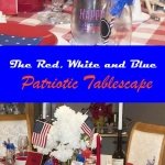 celebrating Independence Day with a fun tablescape
