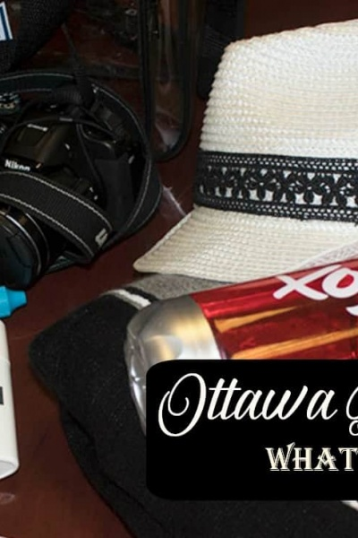 What to Pack in Your Ottawa Bluesfest Bag, My 21 Must Have's