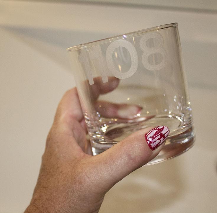 glasses at le germain
