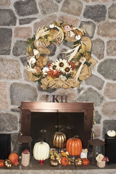How to Make a Neutral Fall Wreath
