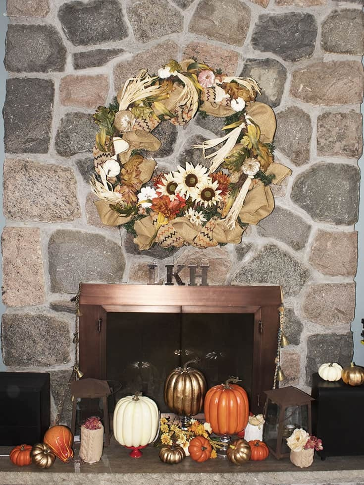 Fall Wreath in neutrals