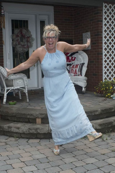 Old Navy Eyelet Maxi in Baby Blue And A Labour of Fashion 194