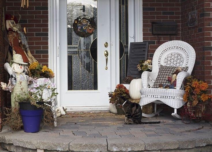 Pumpkin Patch Fall Porch design