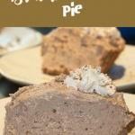 homemade brownie pie