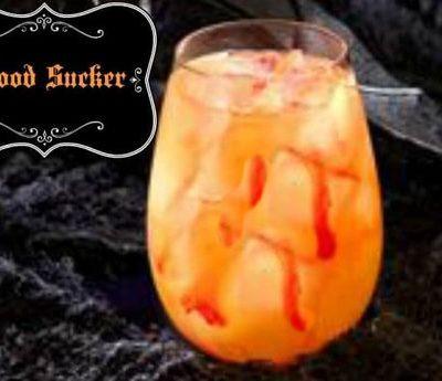 Halloween Cocktails- The Blood Sucker