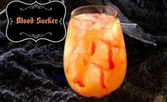 Halloween Drinks Blood Sucker