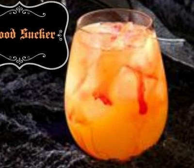Halloween Cocktails- The Blood Sucker