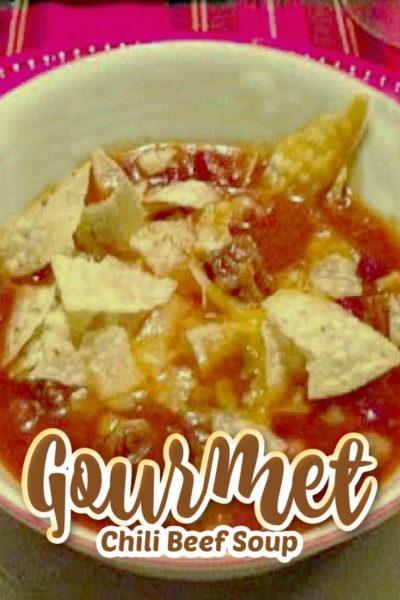 Homemade Beef Chili Soup