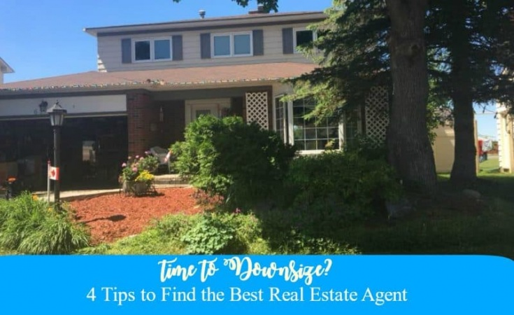 house and yard finding a real estate agent