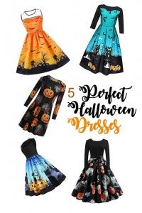5 fun Halloween Dresses