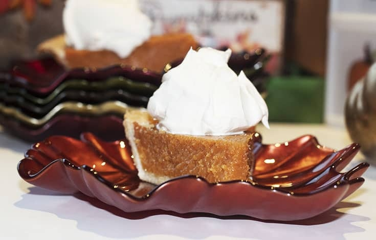 pumpkin pie spice whip cream