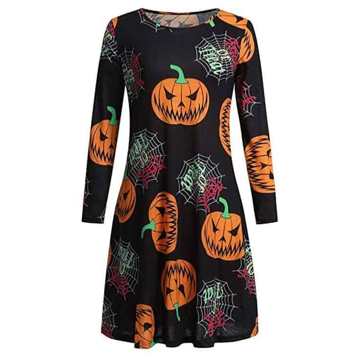 pumpkin shift Dress