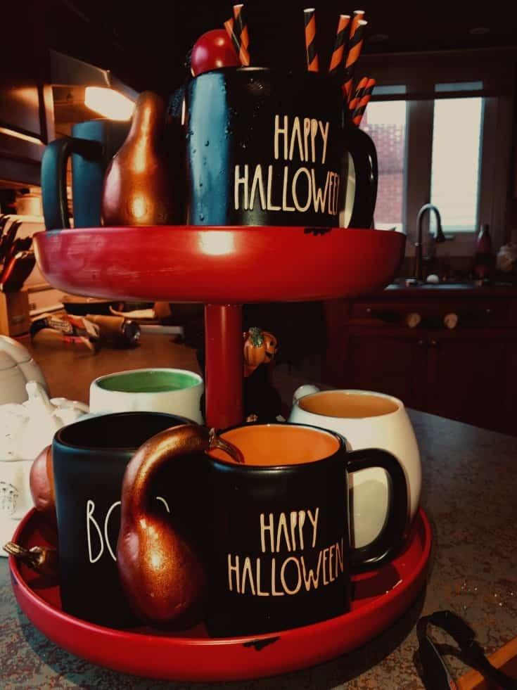 rae dunn halloween