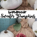 sweater pumpkins pin