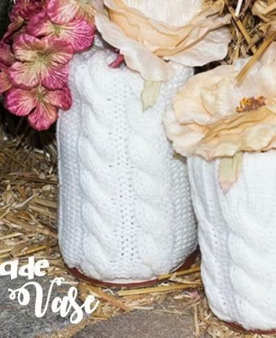 Handmade Sweater Vases