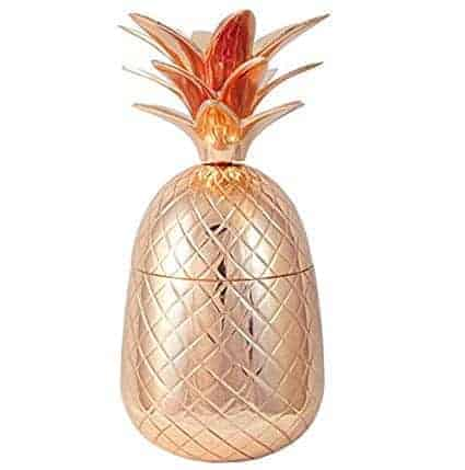 rose gold pineapple ice bucket