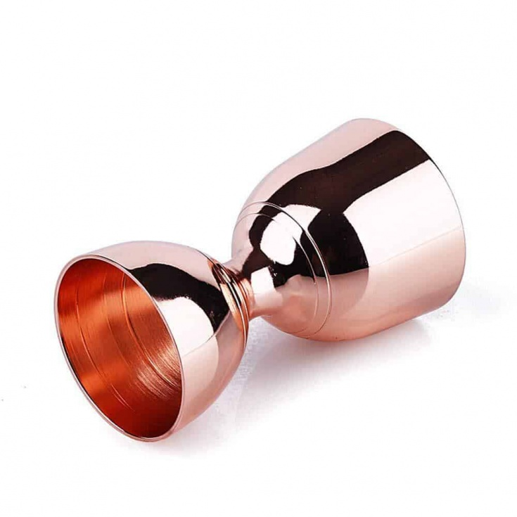 rose gold jigger
