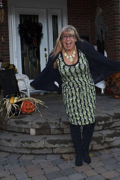 Banana Republic Pineapple Dress and Election Day
