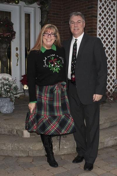 J Crew Christmas Tartan Skirt