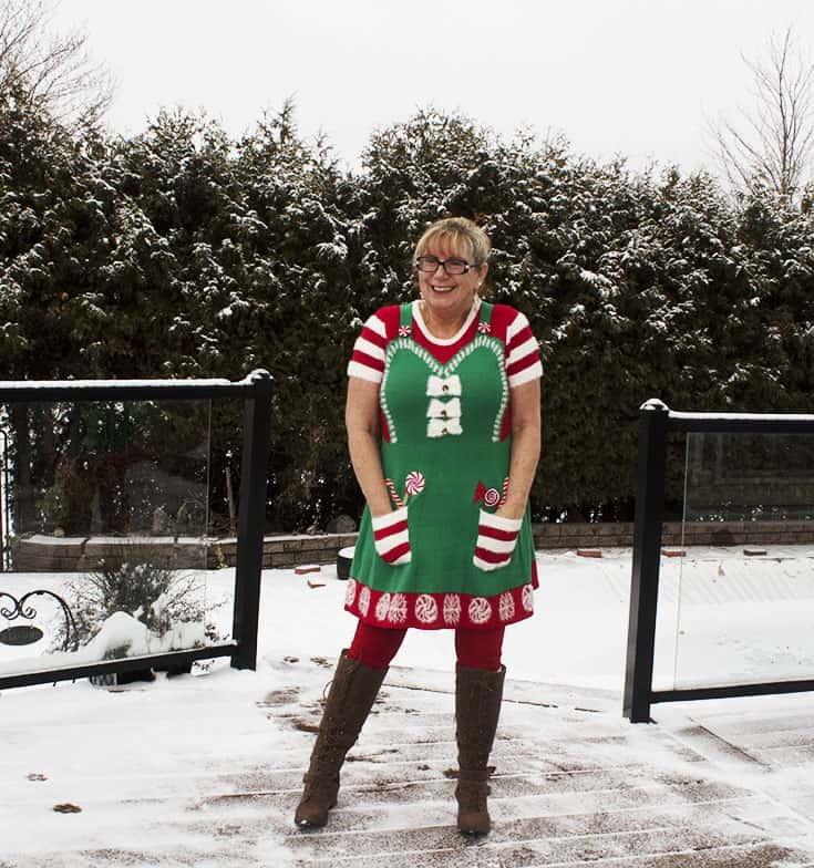 elf dress from Kohls (2)