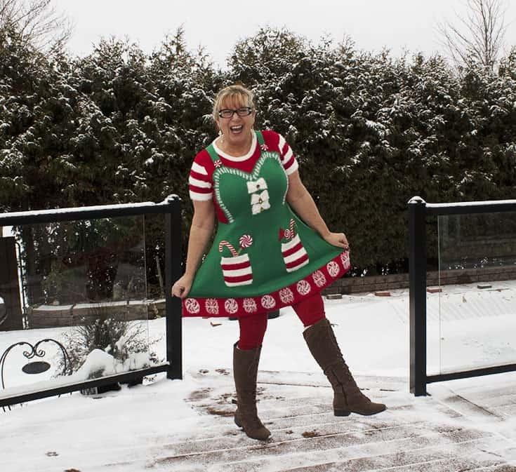 elf dress from Kohls (3)