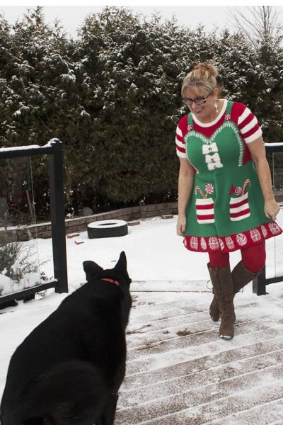 Santas Elf Helper Dress