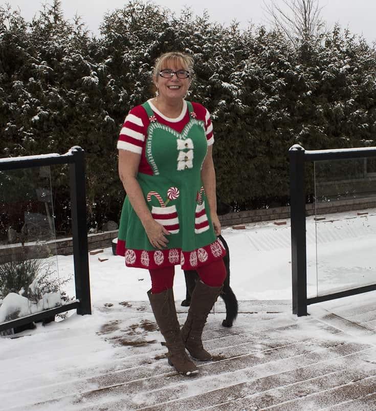 elf dress from Kohls (8)