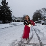 red tulle skirt with Candy Cane Sweater (3)