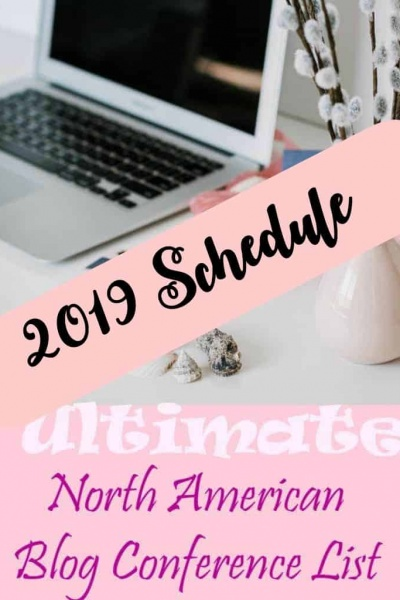 2019 Blog Conference Schedule