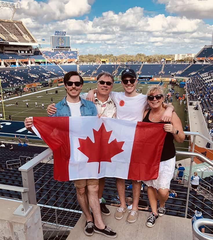 Canadians at VRBO Citrus Bowl 2018