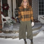 Target paper bag waist pants and flannel 2