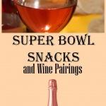 wine pairings for junk food on superbowl
