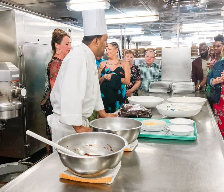 chefs table kitchen tour