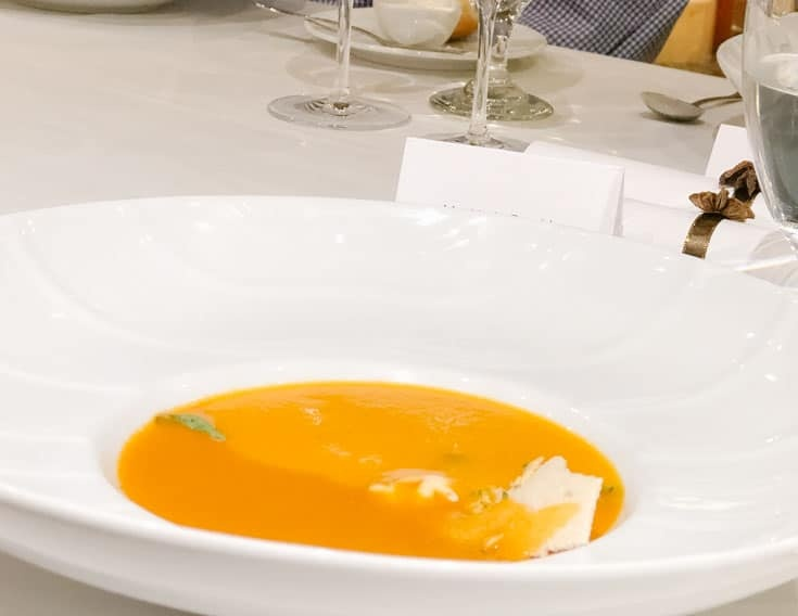 Bisque Chef's Table