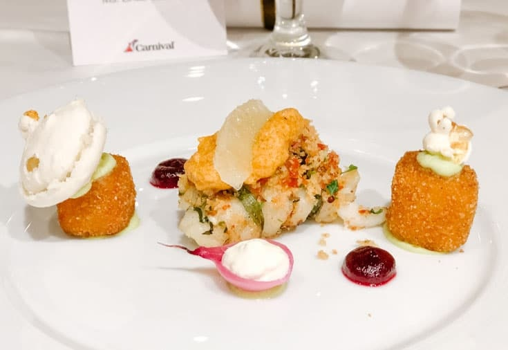 Sea Bass Chef's Table