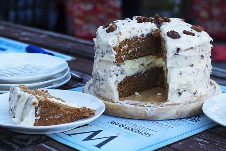 Carrot Cake Cheese Cake Cake