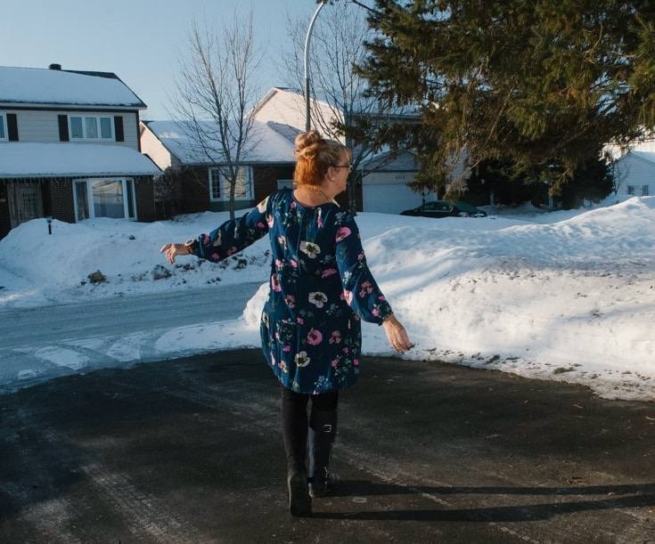 Old Navy Floral Dress and Shoe Dazzle Boots