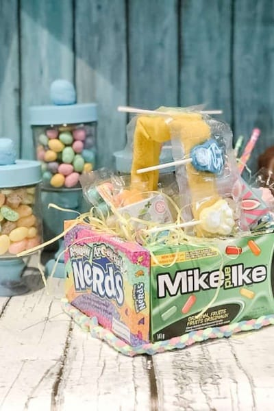 Edible Easter Candy Basket